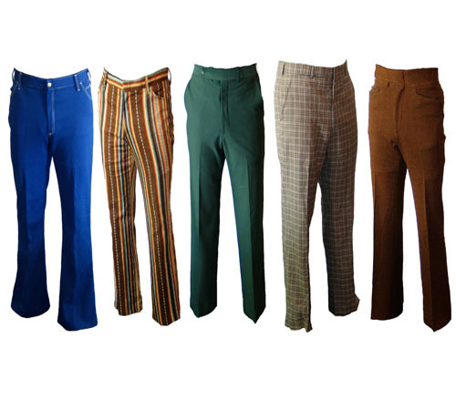 Mens Poly Pants